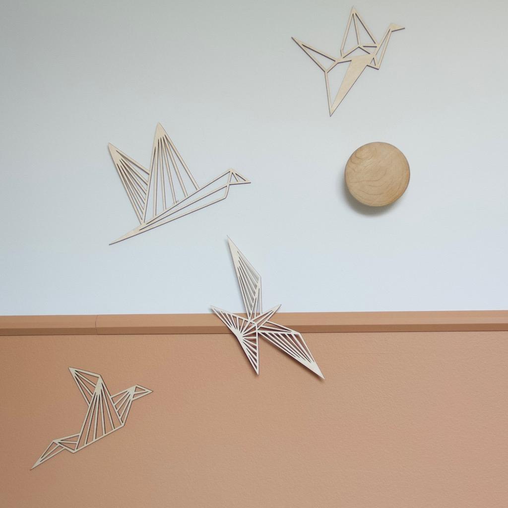 Geometriske fugle til hjemmet